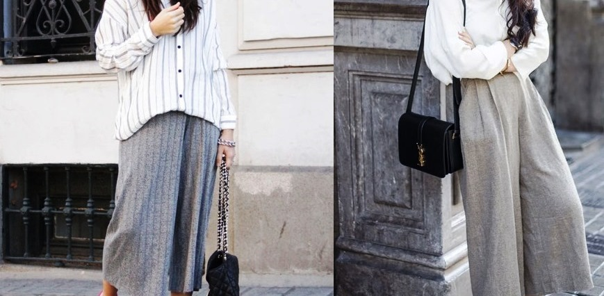 5 Cara Tampil Stylish Menggunakan Celana Kulot yang Bisa Dicoba