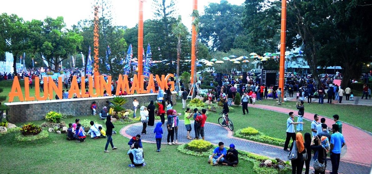 8 Taman di Kota Malang yang Terkenal dan Keren untuk Refreshing