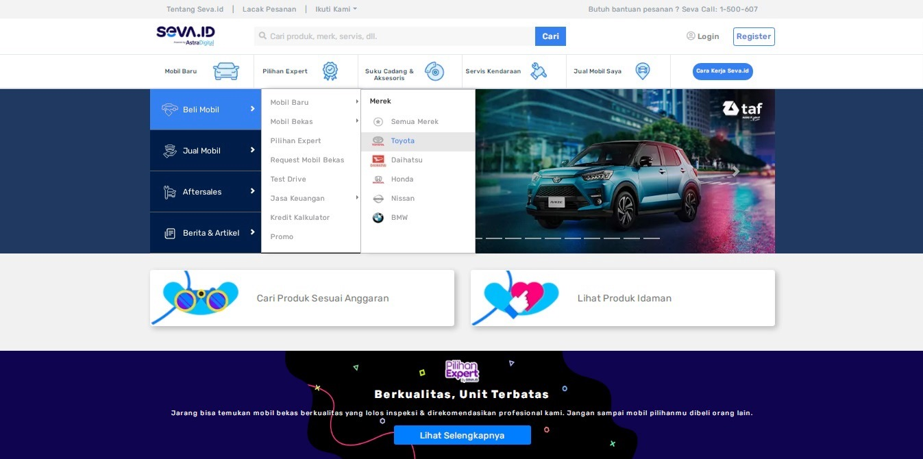 Keuntungan Beli Mobil Bekas di Seva.id melalui Pilihan Expert yang Perlu Anda Ketahui